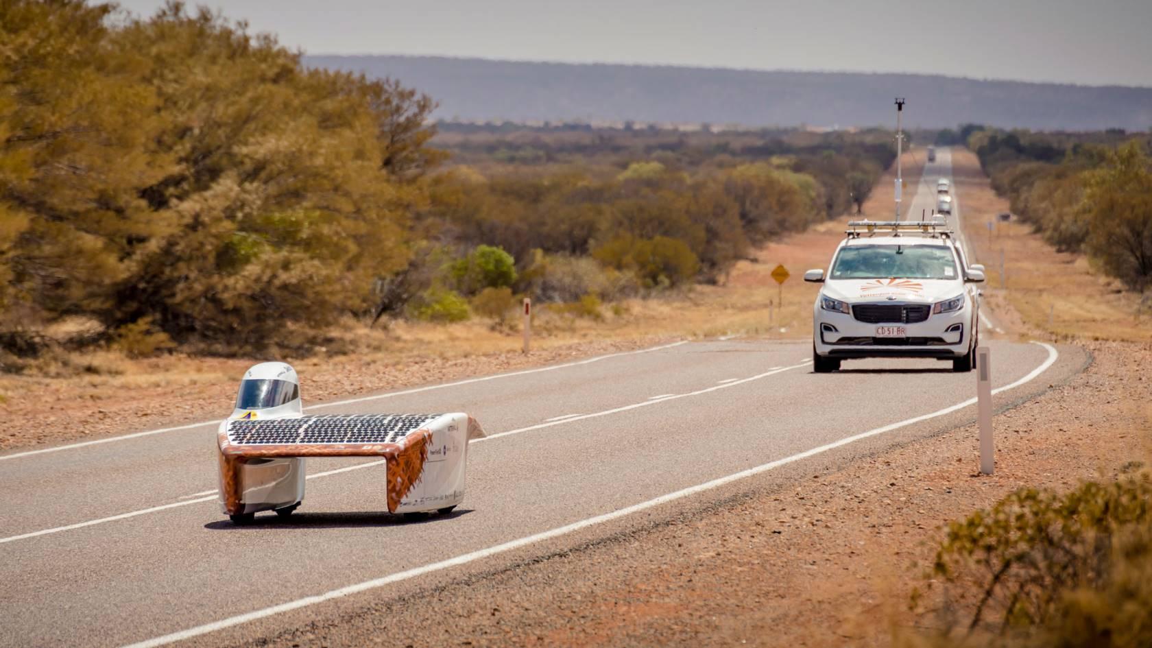 NunaX, la nouvelle voiture solaire de Vattenfall