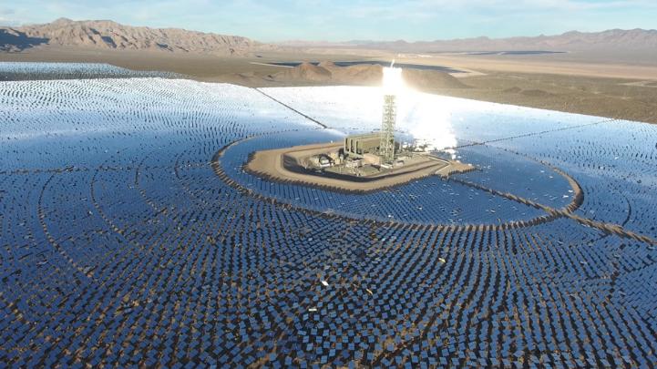 La centrale solaire d'Ivanpah