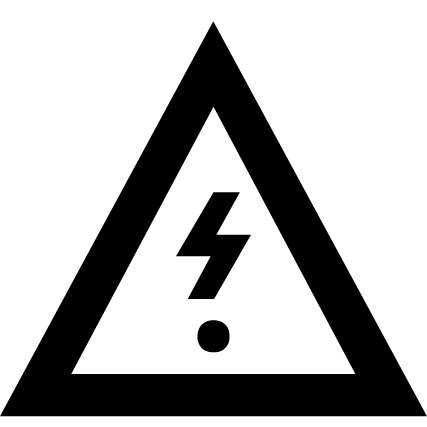 Pictogramme coupure de courant