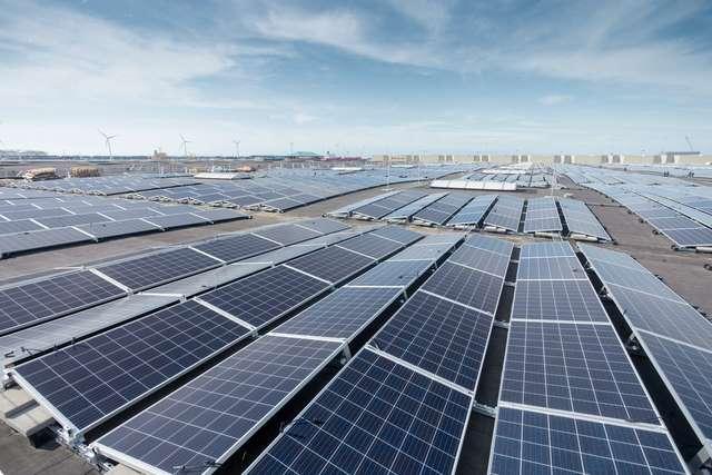 Toiture solaire photovoltaïque